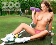 Дейзи Ваттс, фото 120. Daisy Watts & Amy Green - Sexy Wimbledon July 2012 LQ Tags, foto 120